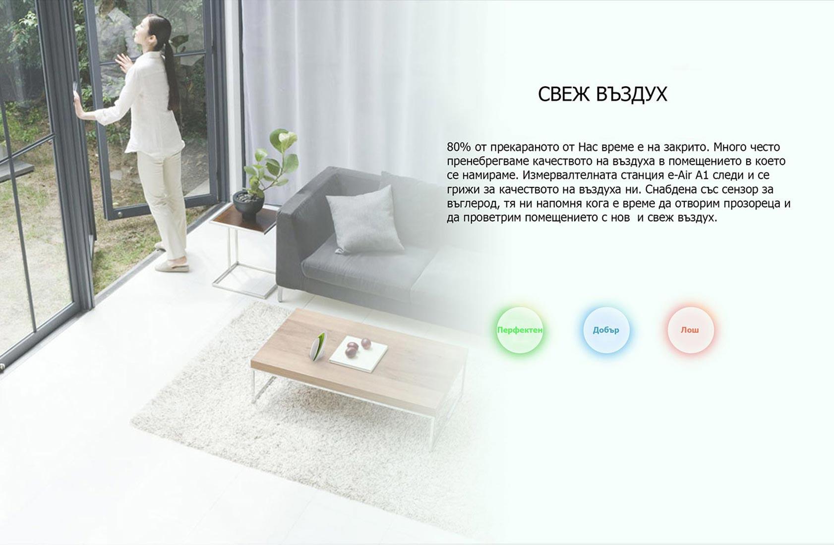 BroadLink e-Air A1 - Свеж Въздух